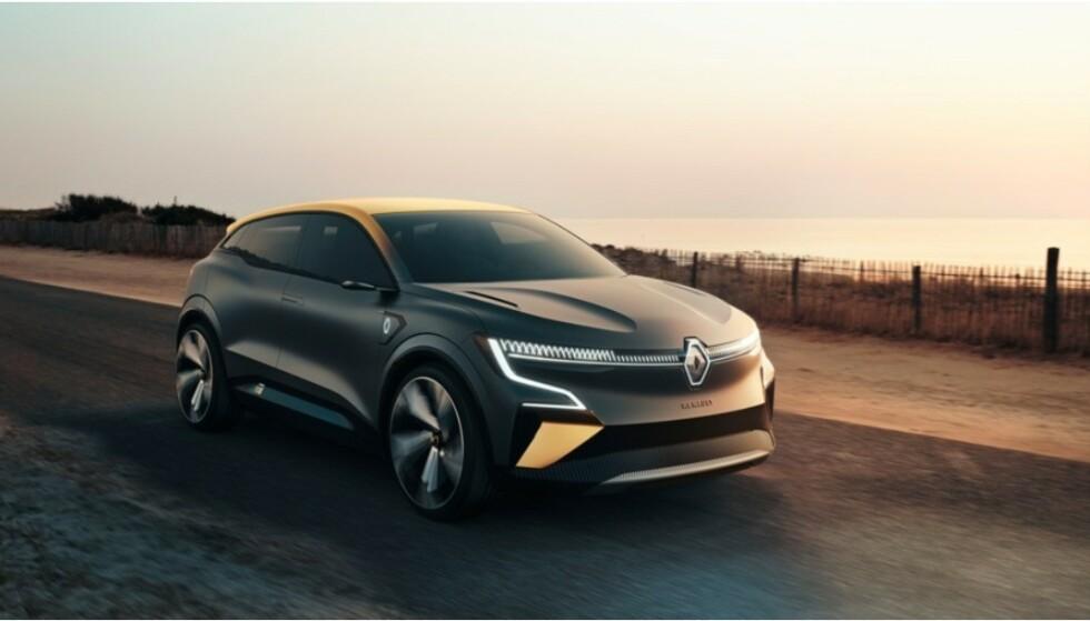 NY SUKSESS: Etter suksessen med Zoe, er det store forventninger til Renault nye, elektriske Mégane. Foto: Renault