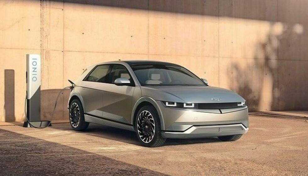IONIQ 5: Ioniq er Hyundais nye elbil-merke og modellen 5 blir en av de mest spennende elbilene i år. Foto: Ioniq