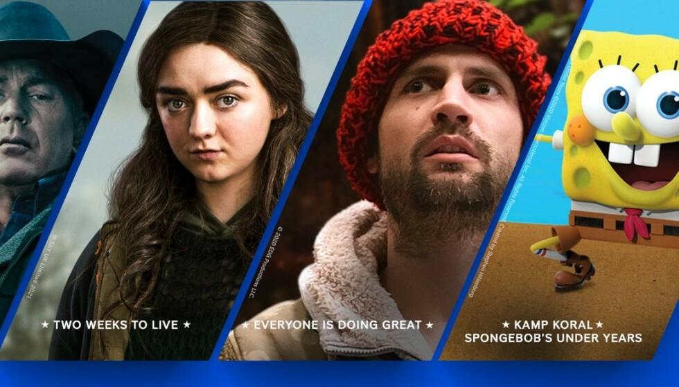 KOMMER SNART: Paramount+ lanseres i Norge 25. mars til 69 kroner måneden. Foto: Paramount