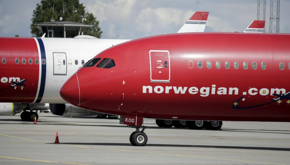 GJELDER FÅ: Norwegian-kunder som mener de har krav om refusjon på grunn av kansellert flyvning fra før 18. november må melde inn dette nå. De som allerede har meldt inn kravene sine, trenger ikke foreta seg noe. Foto: NTB