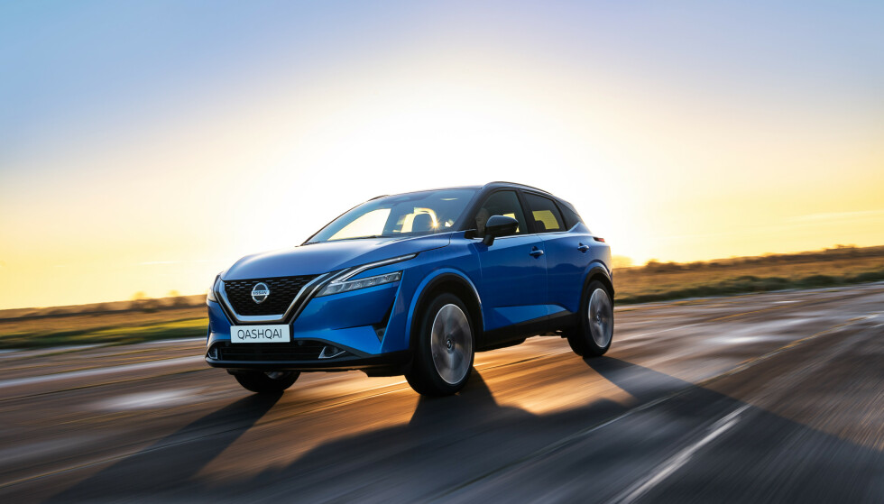SLUTT PÅ DIESEL: Når nye Nissan Qashqai kommer til Norge i sommer, er det bare med bensin-hybrider under panseret. Diesel-motorer er over og ut. Foto: Nissan