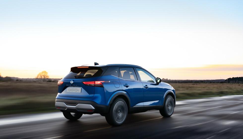 HVA MED PRISEN?: Norske bilavgifter favoriserer sterkt biler med lade-ledning. Det har ikke nye Qashqai, derfor blir det spennende å se prisen når den blir klar nærmere sommeren. Foto: Nissan