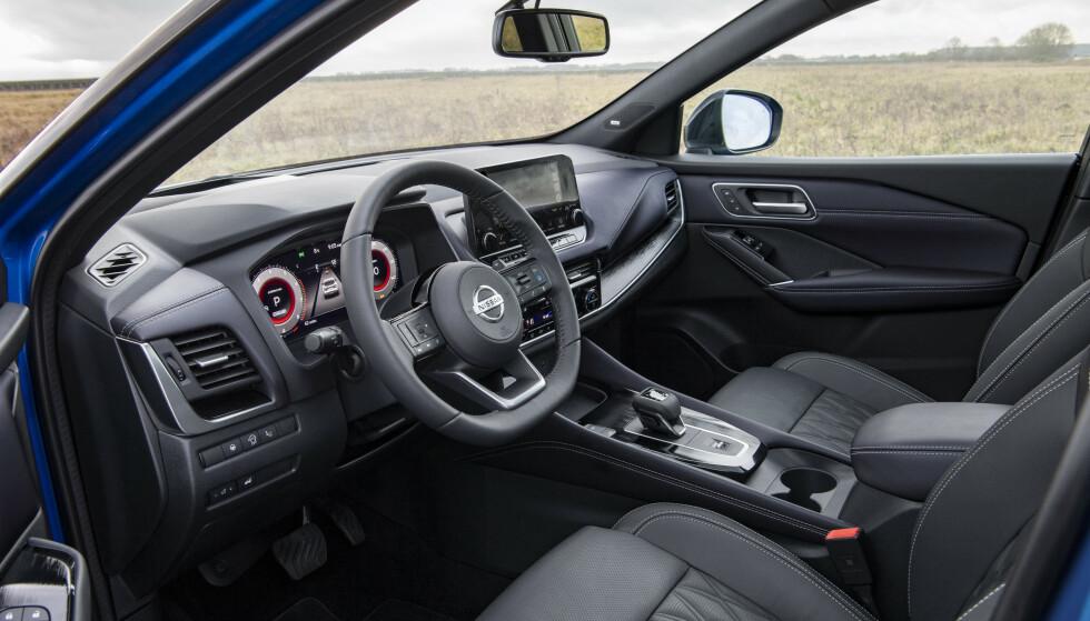 LITT STØRRE: Bilen bygges på en ny plattform, noe som gjør den lettere og litt større enn dagens Qashqai. Foto: Nissan
