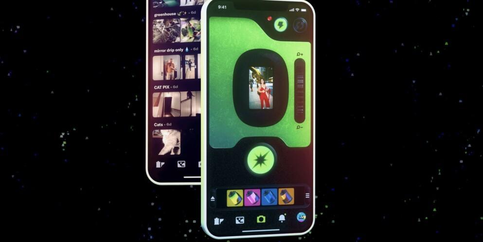 NY SNAKKIS: Dispo er den nye snakkisen innenfor fotodelingsapper. Noen omtaler som det nye Instagram, men den er egentlig den rake motsetningen. Foto: Dispo