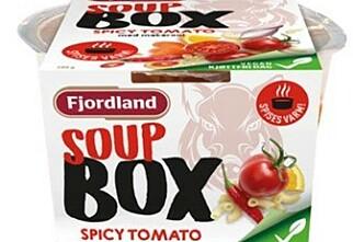 Fjordland tilbakekaller suppe