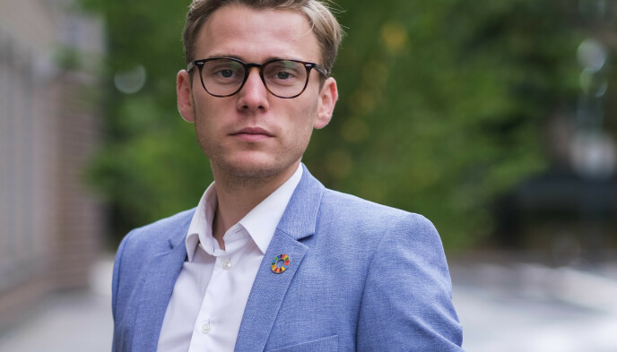 Henrik Pettersen Sunde kommunikasjonsrådgiver i Ung i Trafikken.