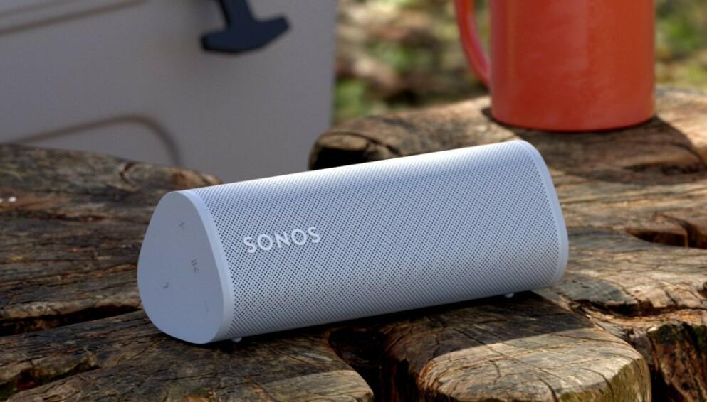 OFFISIELL: Sonos Roam er selskapets rimeligste høyttaler til nå og kommer til Norge i april med en prislapp på 1799 kroner. Foto: Sonos