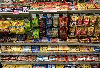 Selger godteri til en tredjedel av prisen