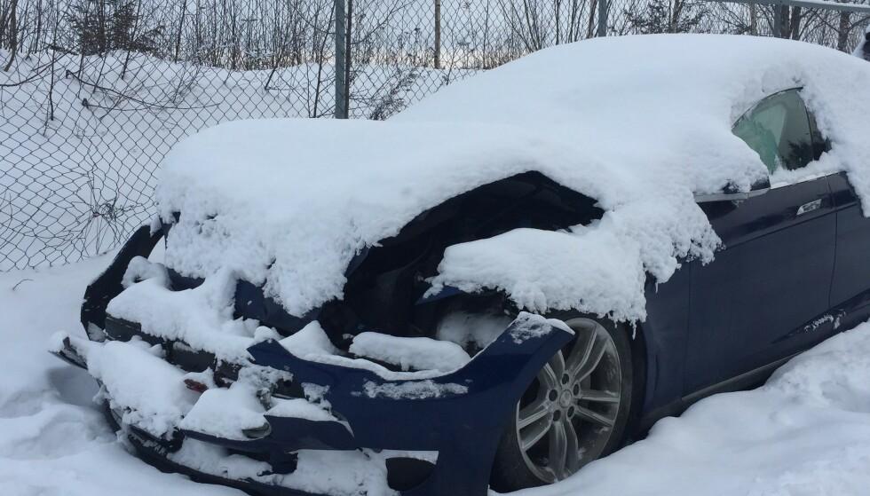 AVSLØRTE SVINDLERE: Forsikringsselskapene avslørte i fjor 442 bileiere som hadde forsøkt seg på svindel med falske skader. Foto: Rune Korsvoll