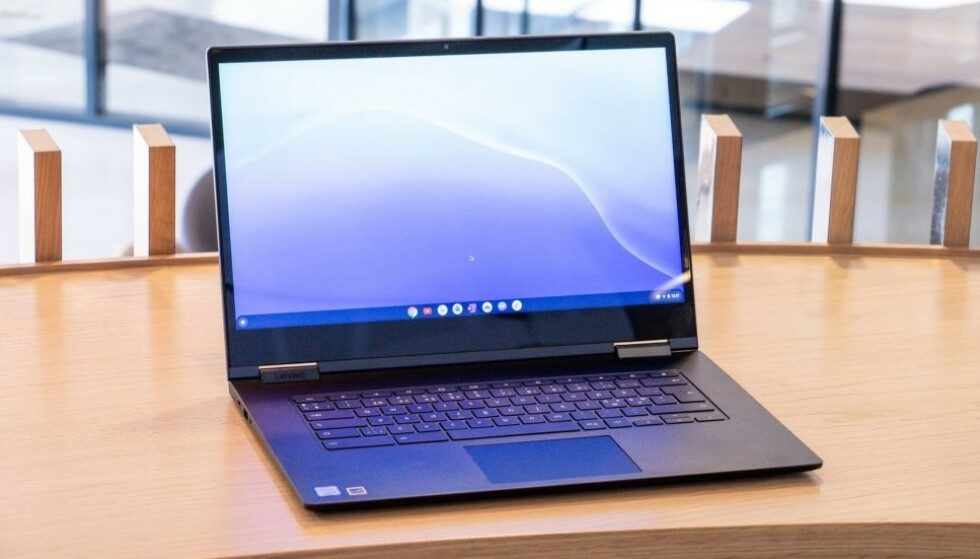 BILLIGE: En av fordelene med Chromebook-maskiner er at de gjerne koster en del mindre enn tradisjonelle Windows-PC-er eller Mac. Foto: Martin Kynningsrud Størbu