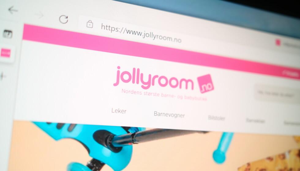 JOLLYROOM: Kunden Jacob Øvergaard reagerer på nettbutikkens fremgangsmåte. Foto: Martin Kynningsrud Størbu
