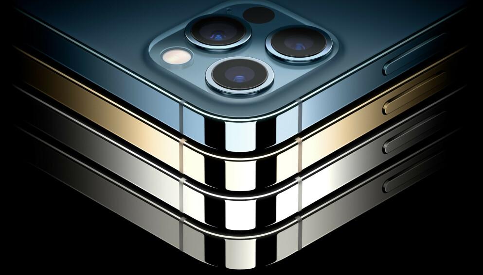 TOPPMODELLEN: iPhone 12 Pro er dagens toppmodell fra Apple, men i neste omgang kan det være at selskapet dropper tallet 13. Foto: Apple