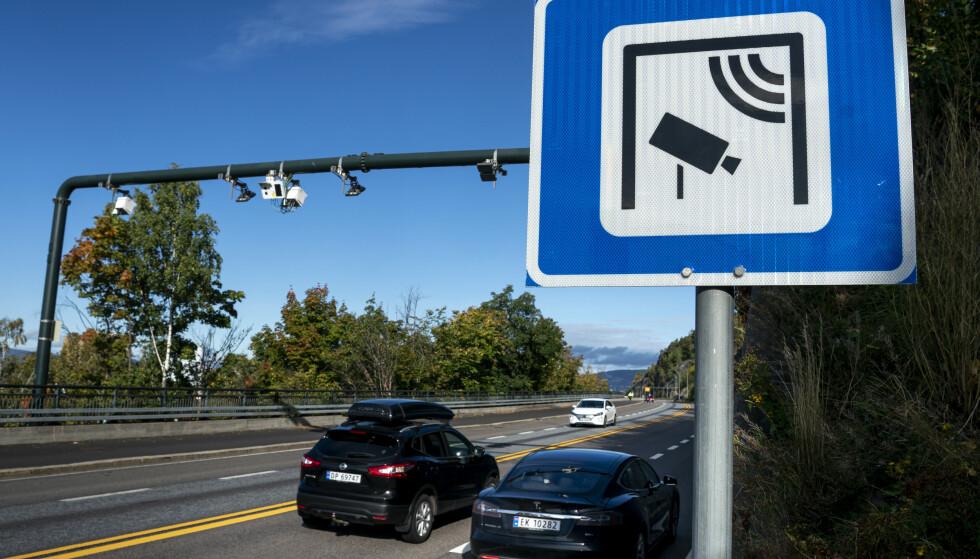 BOMPENGER: Mannen skjulte bilnummeret og dekket til bombrikken sin ved bompengepasseringer i Bergen for å unnlate å betale bompenger. Nå er han dømt til 21 dagers betinget fengsel. Foto: NTB