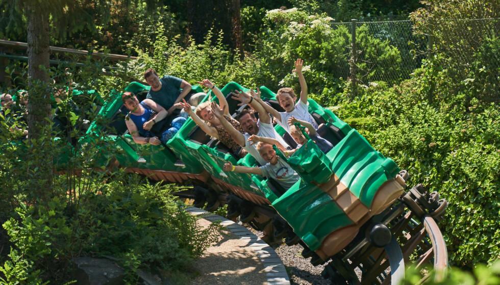 KREVER COVID-19 TEST: Legoland, Tivoli og Bakken i Danmark åpner til påsken, men alle over 15 år må vise en negativ covid-19-test for å slippe inn. Dette gjelder alle danske tivoli og familieparker i sommer. Foto: Legoland