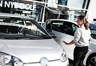 - Økonomi styrer bilkjøpet