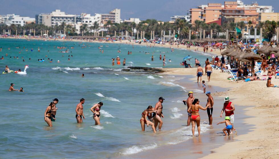 CORONA I SPANIA: Spania er et av sju land med lavere smitte en Norge siste 14 dager, ifølge ferske tall fra det europeiske smittevernbyrået ECDC. Foto: REUTERS/NTB