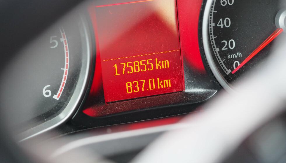 ET PAR TASTETRYKK: Mange har glemt å justere kjørelengden i forsikringen og kaster flere tusenlapper ut av vinduet. Dette gjør du enkelt med et par tastetrykk på hjemmesiden til forsikringsselskapet ditt. Foto: If