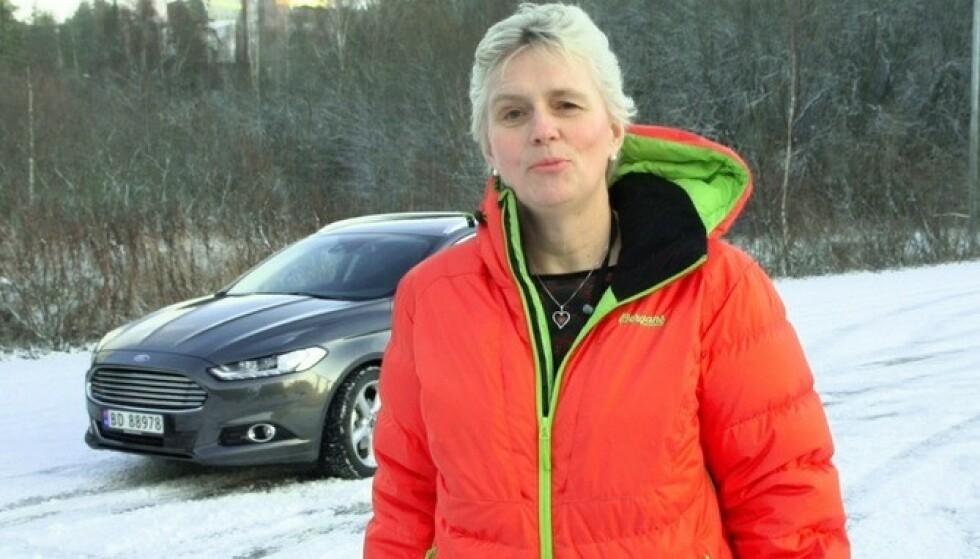 STOR SUKESS: Mondeo har vært en stor suksess i Norge i 30 år, forteller Anne Sønsteby i Ford Norge. Foto: Ford