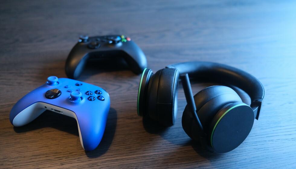 XBOX: Den nye spillgenerasjonen innebærer nytt tilbehør. Foto: Martin Kynningsrud Størbu