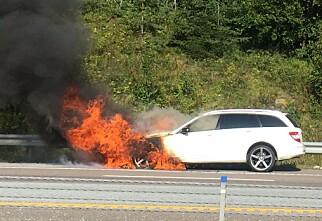 Brannfare i 270 000 biler