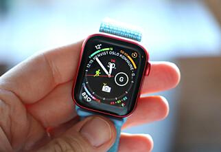 Bytte og tilpasse urskive på Apple Watch