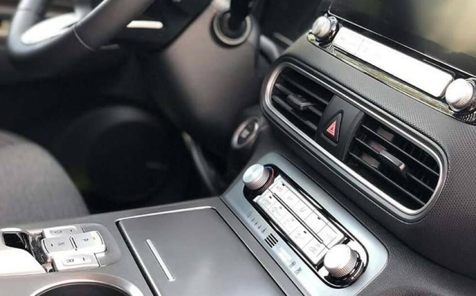 IT´S ALL IN THE DETAILS: Dette bildet viser detaljene i bilen på en smakfull og forståelig måte. Foto: Finn.no