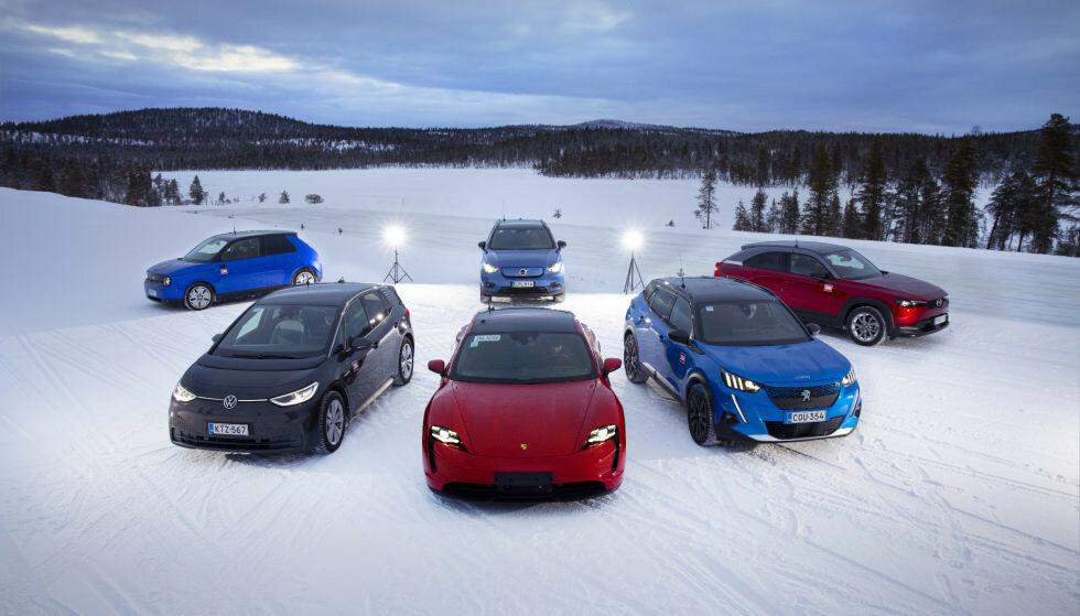 ELBILER: Andelen elbiler øker stadig. Foto: Antti Hentinen