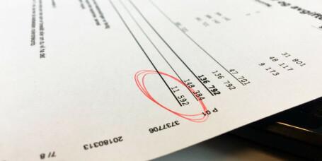 Tabben som forsinker skattepengene