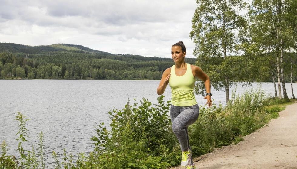 ET KINDEREGG: Norske intervaller er et kinderegg av en treningsøkt: Den kan gjøres over alt, den er effektiv og du får resultater raskt. Illustrasjonsfoto: NTB