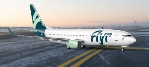 Første avgangsdato for Flyr er satt