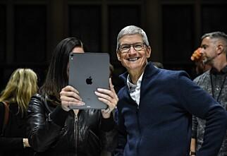 Avslørte Apple-lansering