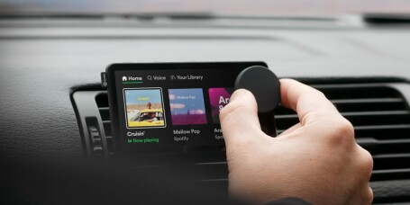 Spotify lanserer egen bil-dings