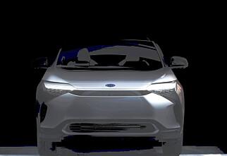 Toyotas første elbil vises mandag