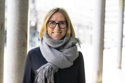 VIKTIG MED VÅRSJEKK: Skadeforebygger i Fremtind, Therese Nielsen. Foto: Fremtind