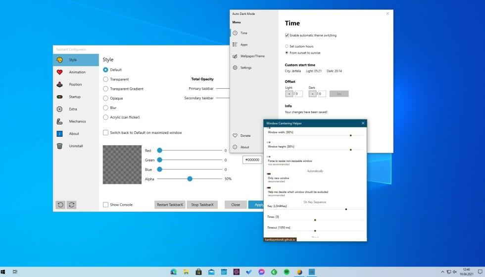 WINDOWS 10: Disse tre appene installerer vi hver gang vi setter opp en ny Windows-PC. Foto: Skjermbilde