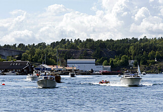 Nye regler om fartsgrenser på sjøen