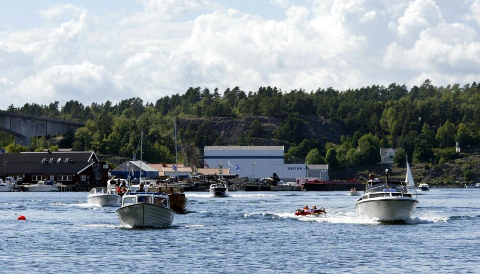 NYE REGLER: Nå blir fartsgrensen på sjøen endret. Foto: Terje Bendiksby / NTB