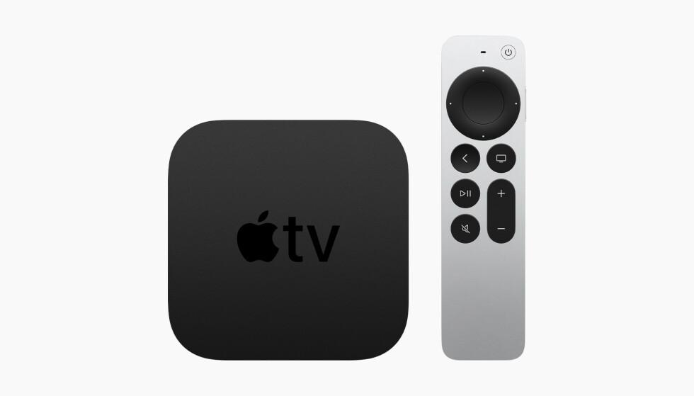 APPLE TV 4K: Apples nye strømmeboks kommer i mai. Foto: Apple