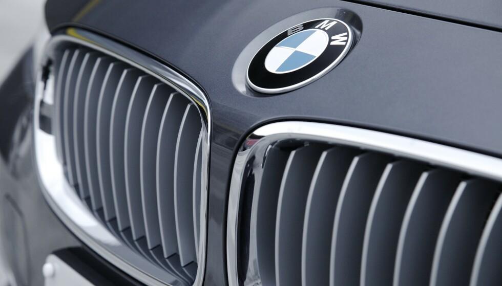 SYNDER MEST: Eiere av BMW og andre tyske luksusbiler - pluss Tesla - går igjen blant de som bryter fartsgrensene oftest og skravler mest i mobilen mens de kjører, viser undersøkelsen blant 30 000 Fremtind-kunder. Foto: Rune Korsvoll