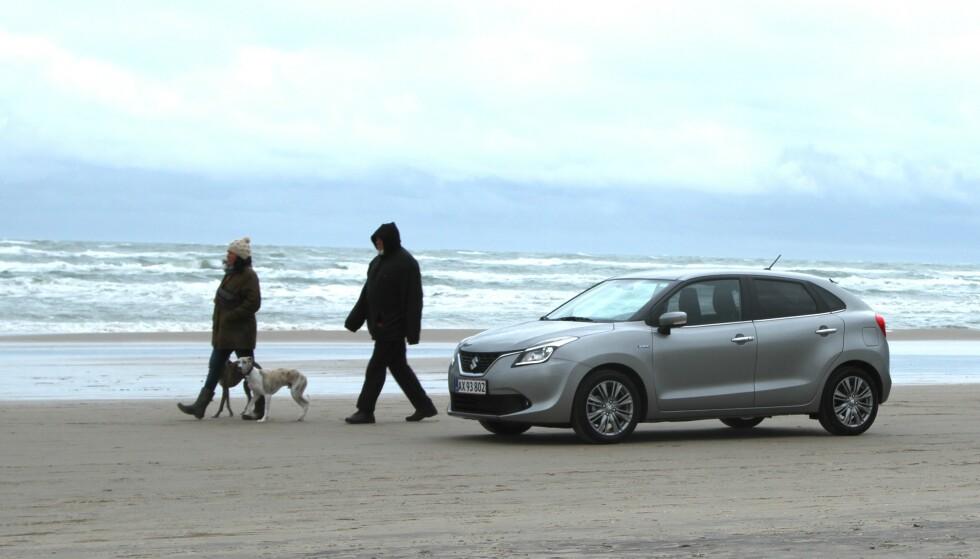 KKE SUZUKI-SJÅFØR: Folk som kjører Suzuki, snakker nesten aldri i telefon mens de kjører. Toyota-eiere er de som er flinkest til å holde seg innenfor fartsgrensen, viser undersøkelsen. Foto: Rune Korsvoll