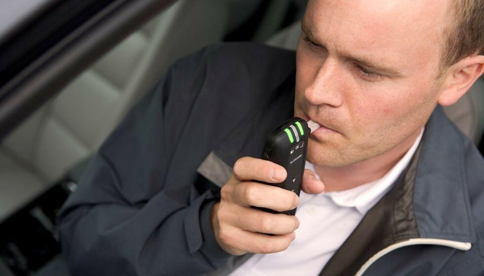 ALKOLÅS: Fellesforbundet ønsker bruk av alkolås i alle norske kjøretøy. Foto: Volvo