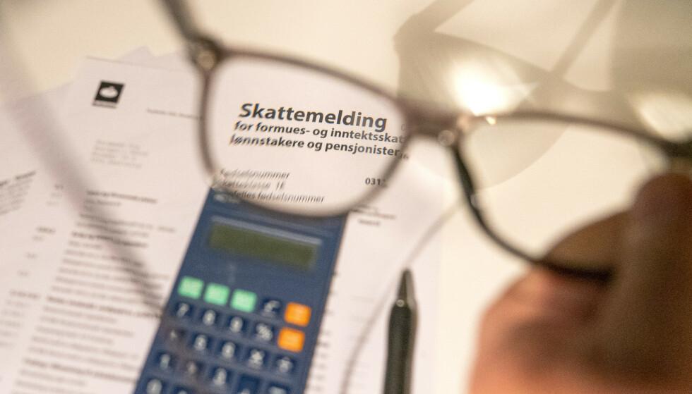 SKATTEOPPGJØRET: Mange har mottat skatteoppgjøret allerede, men ikke alle. Foto: Terje Pedersen / NTB
