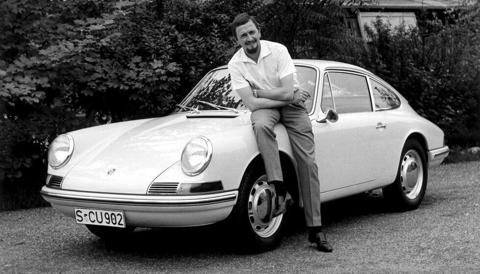 IKONET: Porsche 911 kom på veien i 1963. Fram til 1997 hadde bilen luftavkjølt boksermotor. Det er disse bilene som Porsche-entusiaster drømmer om. Foto: Porsche