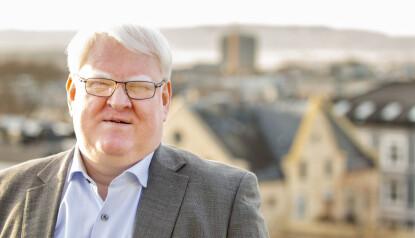 UTFORDRING: Forbundsleder i Blindeforbundet, Terje André Olsen. Foto: Tom Egil Jensen