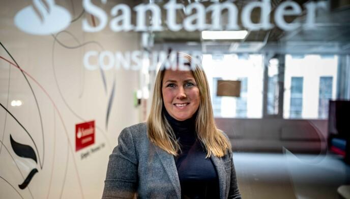 HEAD OF BRAND: Santanders Anna Berndtsson opplever at flere kredittkort-kunder er dobbeltforsikret, mange unødvendig.