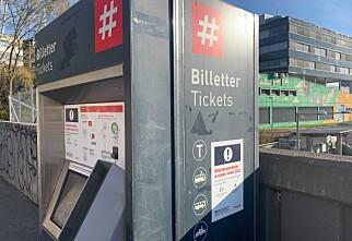 Ruters billettautomater forsvinner