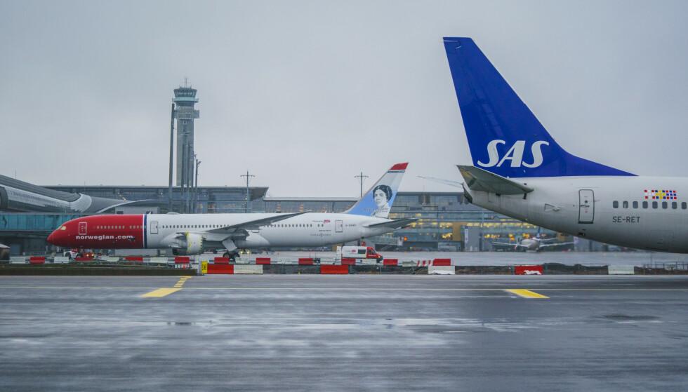 BONUSPOENG: Flypassasjerene må få beholde bonuspoengene sine, krever Forbrukerrådet. Foto: Stian Lysberg Solum / NTB