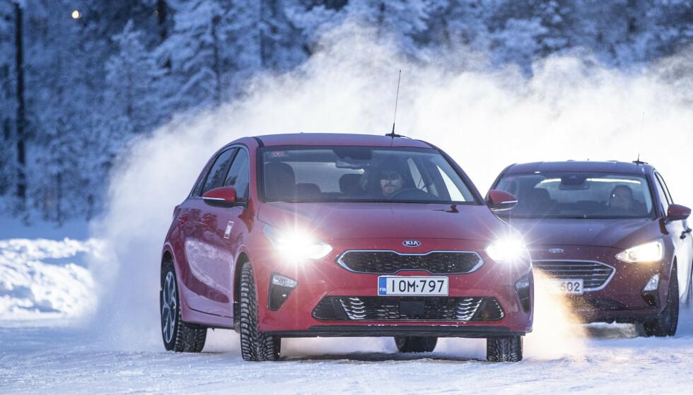 STOR FORBEDRING: Kia Ceed av årsmodell 2011 og 2012 er en av bilene med aller flest nødstopp i rapporten til ADAC. Den beviser imidlertid at det er mulig å forbedre seg. I 2018 er den en av de mest driftssikre. Foto: Markus Pentikainen