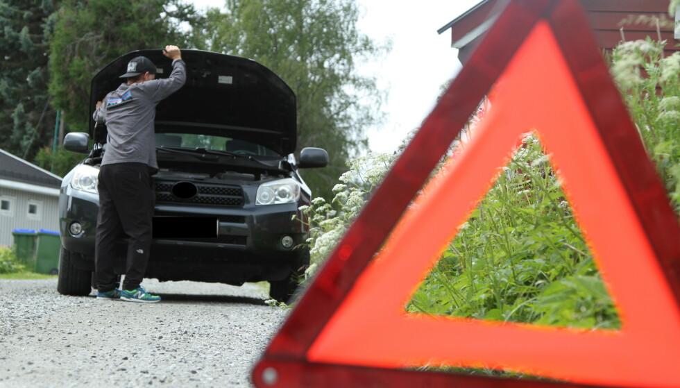 STYR UNNA: Det kan spare deg for mye trøbbel dersom du styrer unna bruktbilene som oftest stopper langs veien. Det er nemlig stor forskjell på de beste og dårligste. Foto: Rune Korsvoll