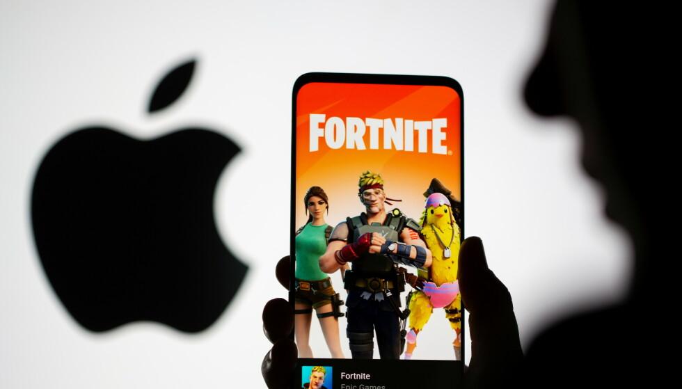 FORTNITE: Epic Games og Apple møtes denne uka i retten i USA. Foto: REUTERS/Dado Ruvic/NTB